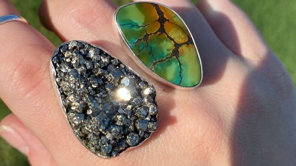 Peruvian Pyrite and Bao Canyon Knuckleduster