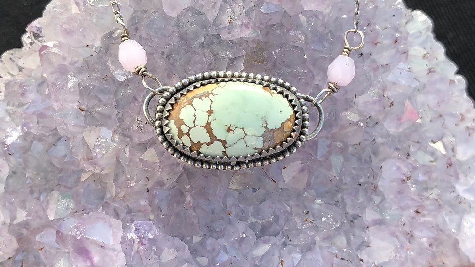 Treasure Mountain Turquoise necklace