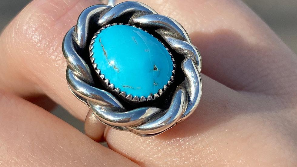 Sleeping Beauty in a Fat Braid Ring