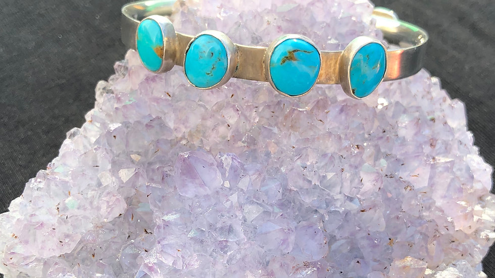 Tonopah Turquoise Totally Cuff