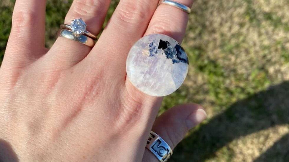 Custom Moonstone Ring for Lena
