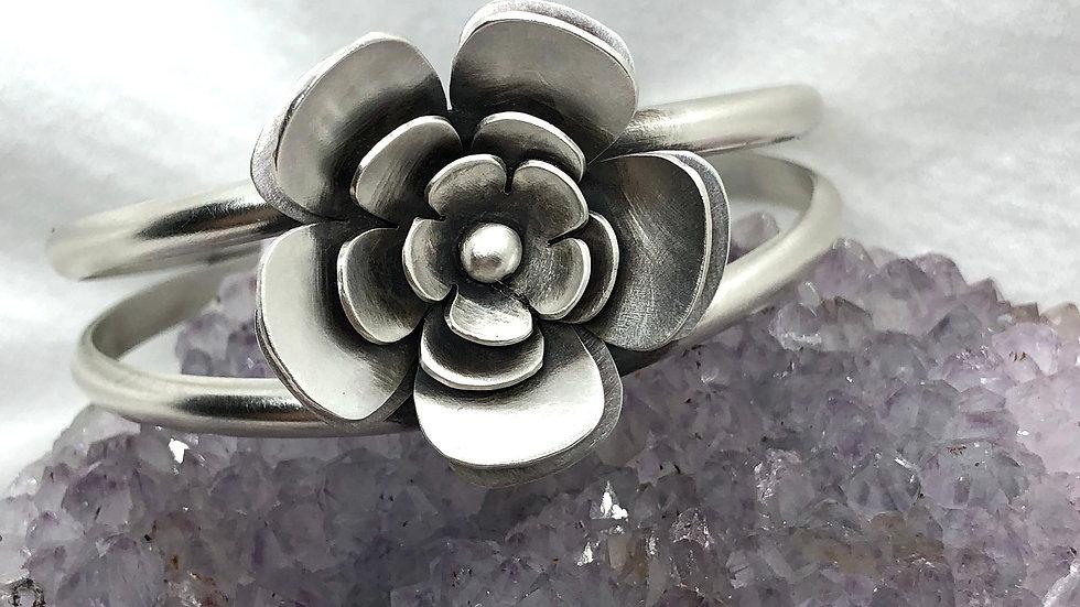 Big ol' Flower Double Cuff