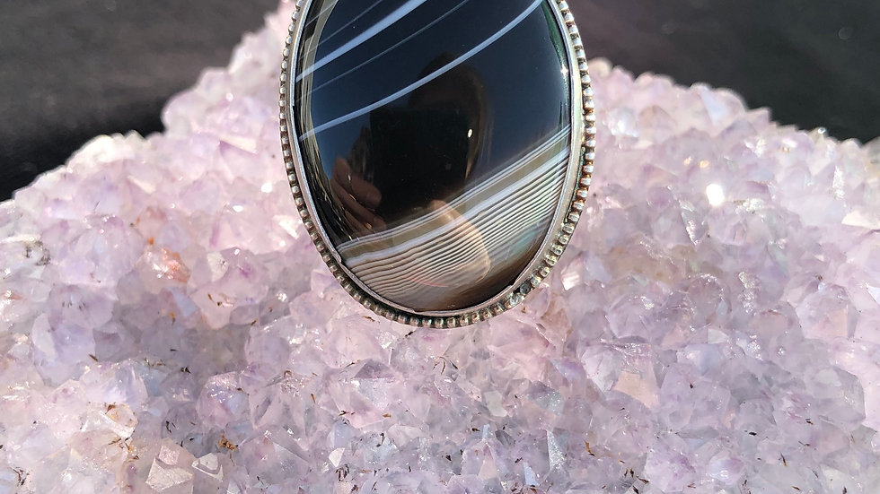 Far Out Oval Agate