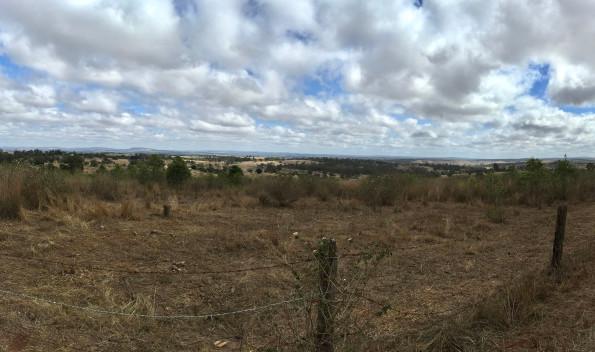 Looking west towards Kingaroy