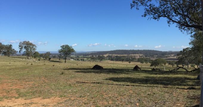 Between Nanango and Kingaroy