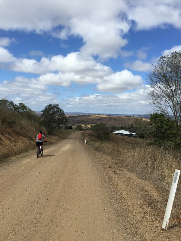 Nice downhills heading into Nanango