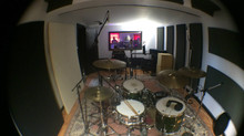 Recording continues in The Gentle Enemies self made studios