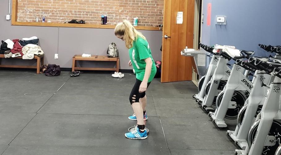 Andrea Woking on Leg Strength Dance Steps