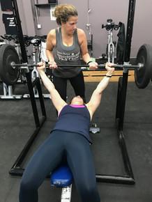 Lori is working towards her PB this season.
