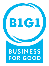 We're a B1G1 Business for Good member and you should join too.