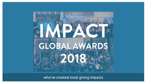 Announcement of the B1G1 Global Awards for Impact – 19 June 2019