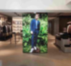 Fabexx 90 Illuminated Retail Graphic