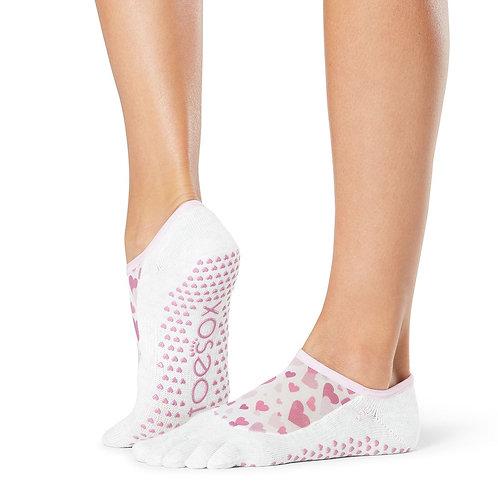 toeox Full Toe Luna Grip Socks