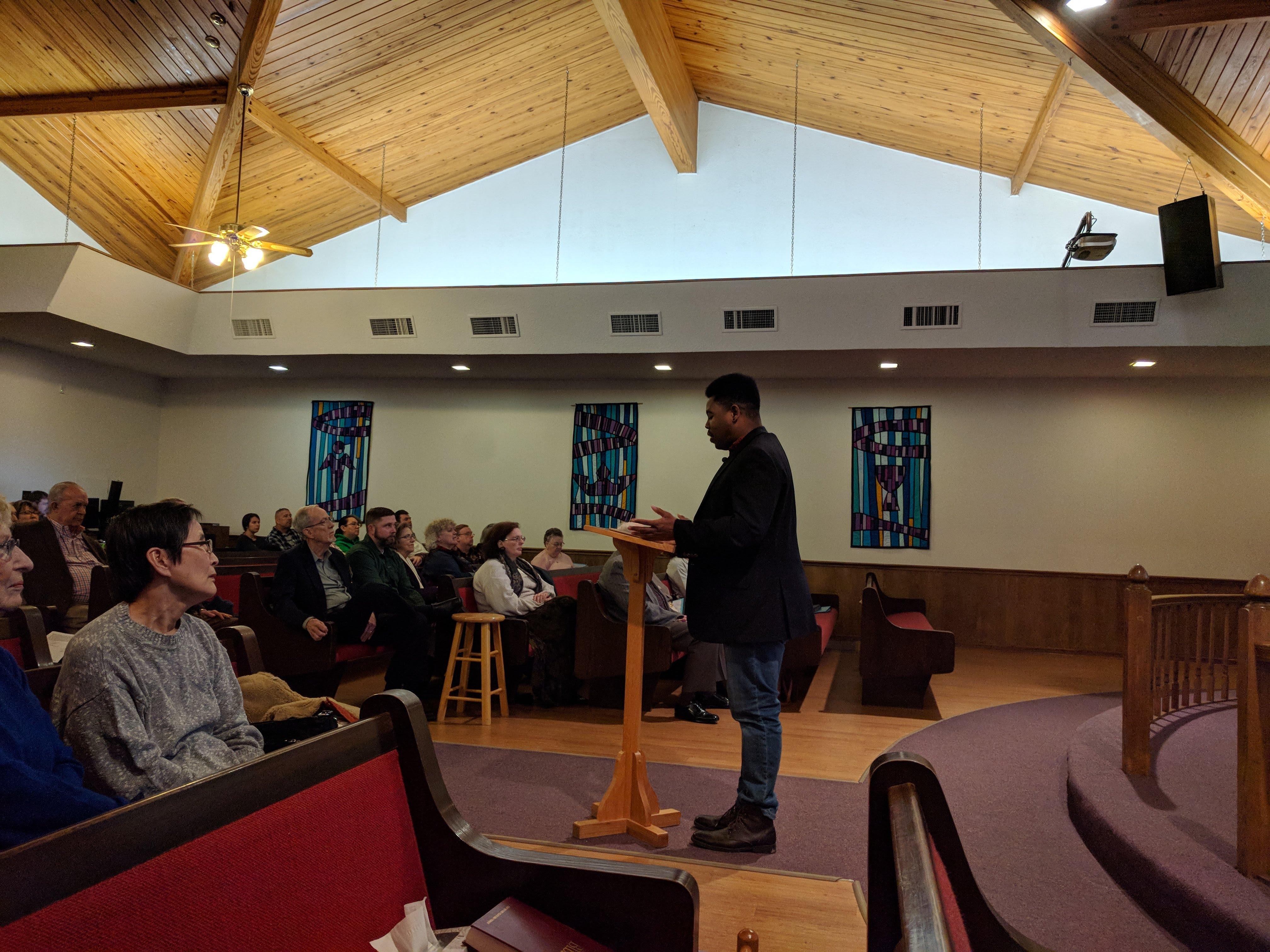 Guest Preacher Pastor J. Wilson