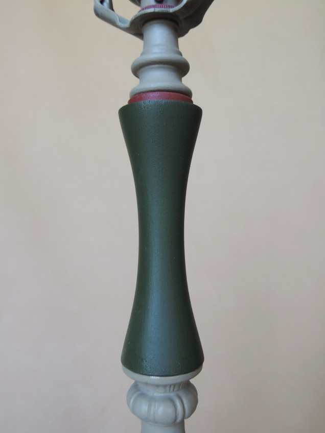 Green Wooden Spindle
