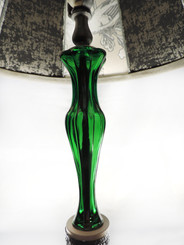 Emerald vase