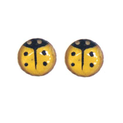 Ladybug Stud Earring