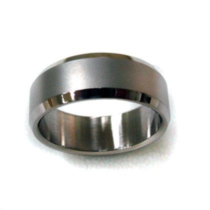 Matte Finished Bevel Ring (6mm) 81-239-6
