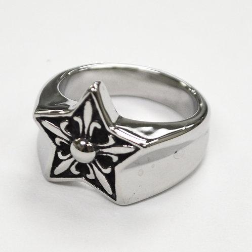 STAR Symbol Stainless Steel Ring 81-1399