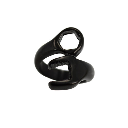 BLACK PLATED WRENCH RING (23mm) 81-1025B