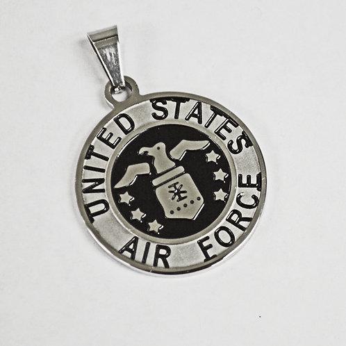 US Air Force Medallion Pendant (30mm)