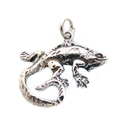 Lizzard Pendant Sterling Silver 562209