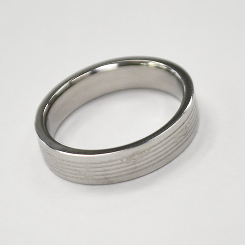 STAINLESS STEEL RING (4mm) 81-291