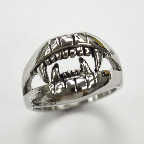 Jaws Stainless Steel Ring  81-1378