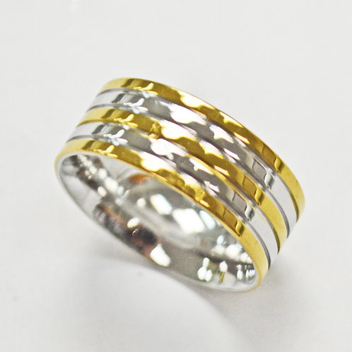 STAINLESS STEEL RING (8mm) 81-1324