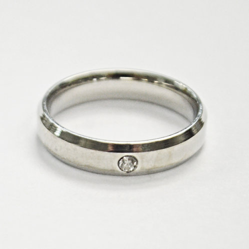 STAINLESS STEEL RING (4mm) 81-689