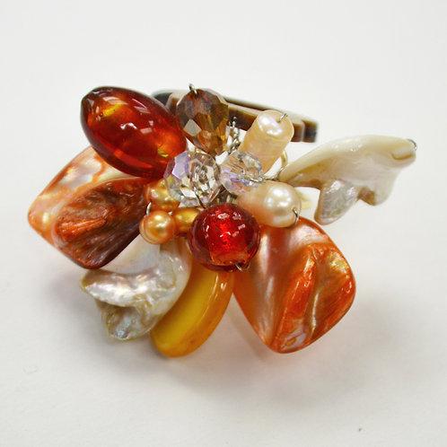 Semi Precious Stone Ring 522003