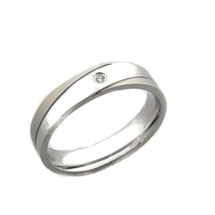 STAINLESS STEEL RING (6mm)  81-382