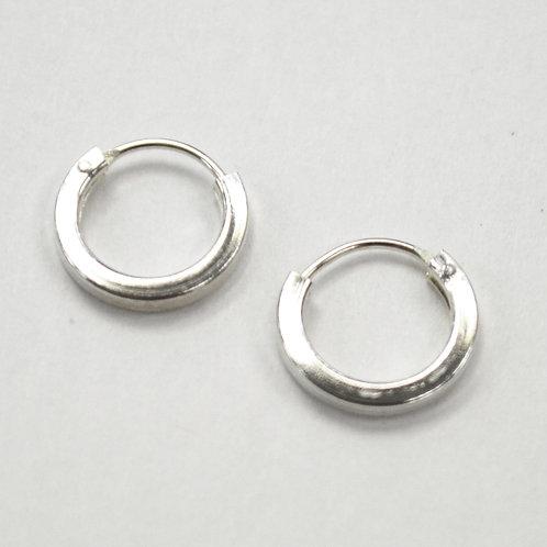 Hoop Sterling Silver Earrings 532079