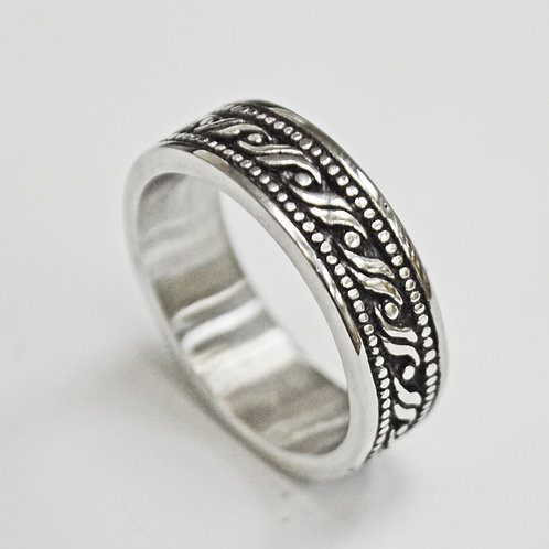 STAINLESS STEEL RING (8mm) 81-1281