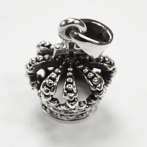 Crown Pendant Sterling Silver 562199