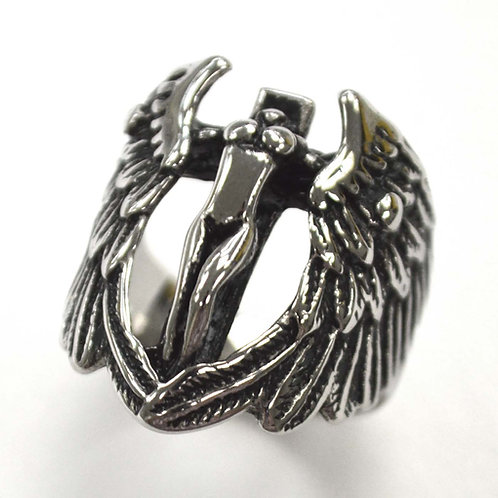 Angel Stainless Steel Ring  81-1439