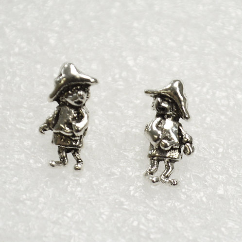 Sterling Silver Stud Earrings 535059