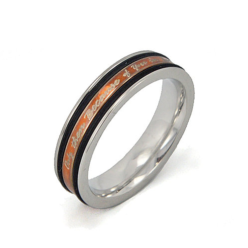 STAINLESS STEEL RING 81-1076