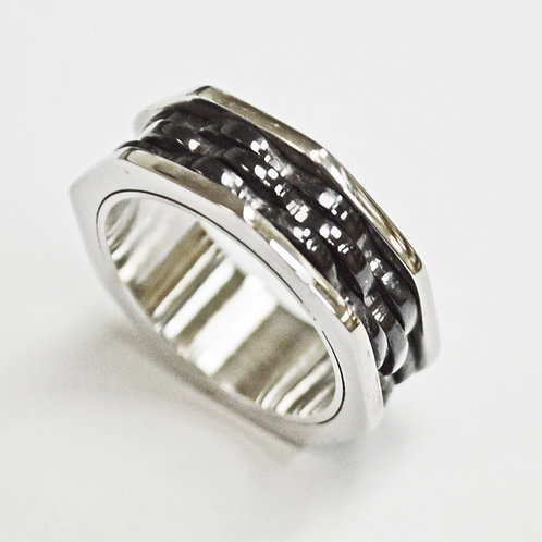 STAINLESS STEEL RING (8mm)81-1285B