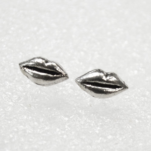 Lips Stud Earring Sterling Silver 535207