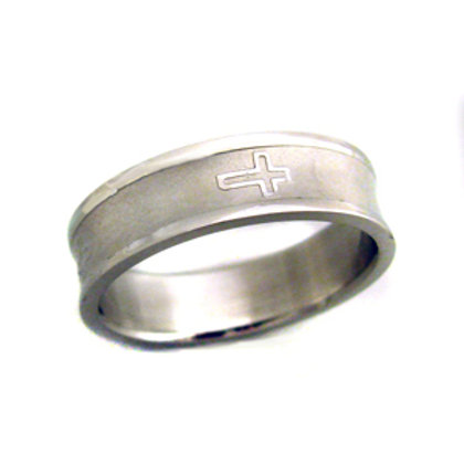 STAINLESS STEEL RING (6mm) 81-387