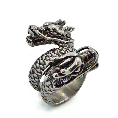 DOUBLE HEAD DRAGON RING (30mm) 81-1022