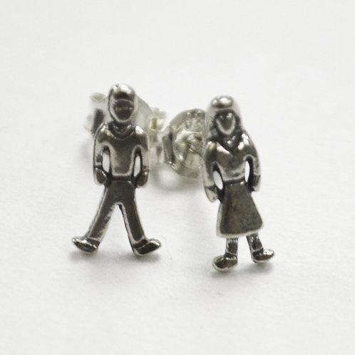 Boy Girl Stud Earring 535110