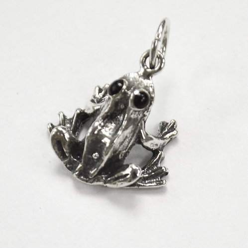 Frog Pendant Sterling Silver 561191