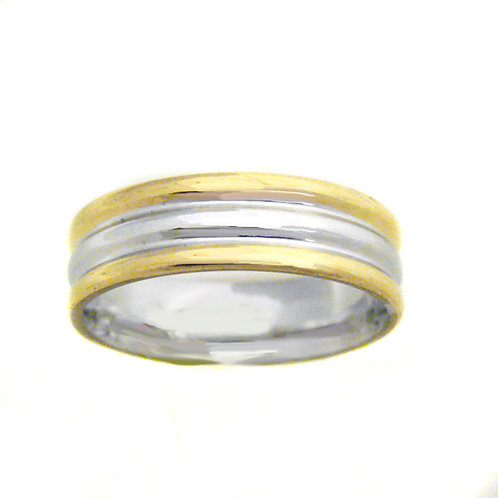 STAINLESS STEEL RING (6mm) 81-722
