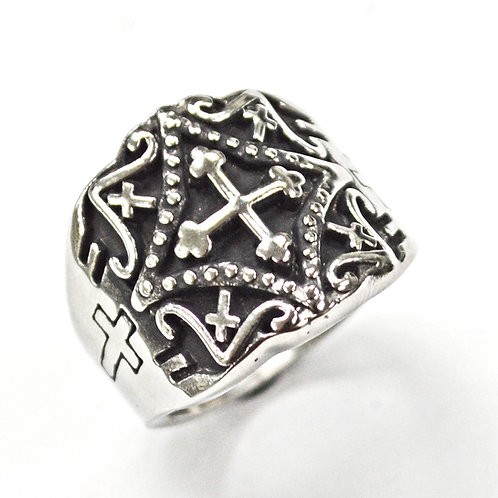 4 WAY CROSS RING (20mm) 81-902