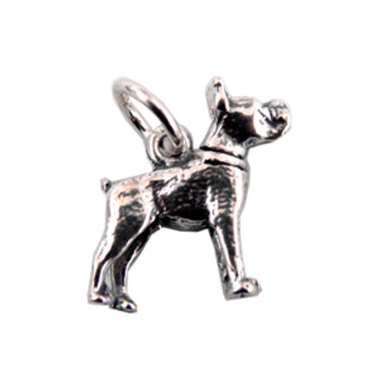 Movable Dog  Pendant Sterling Silver 561032