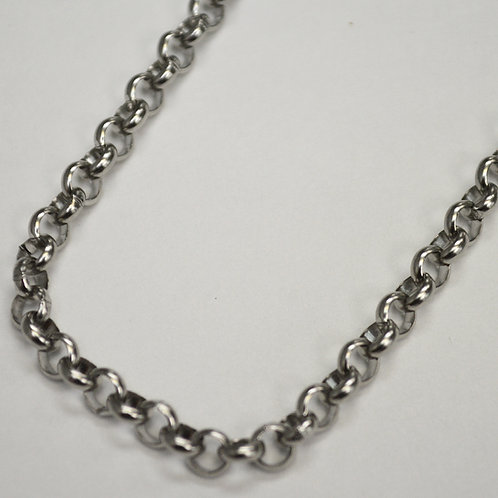 5mm ROLO Link Stainless Steel Chain 85-123-5