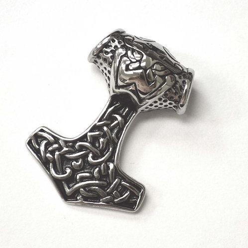 Thor's Hammer Stainless Steel Pendant 86-2419S