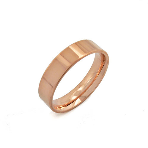 Rose GOLD RING (5mm) 81-1016-4